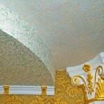 Руководство по нанесению жидких обоев на потолок