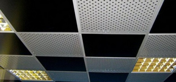 Устройство и монтаж подвесных потолков Армстронг