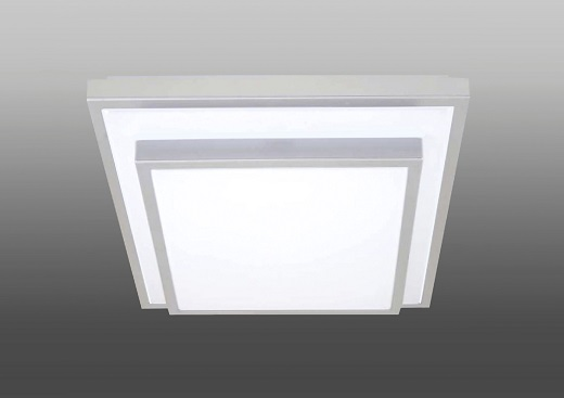 Накладной потолочный светильник на фотографии