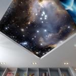 Обзор натяжных потолков с фотопечатью