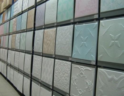 Разновидности потолочных плиток из пенопласта