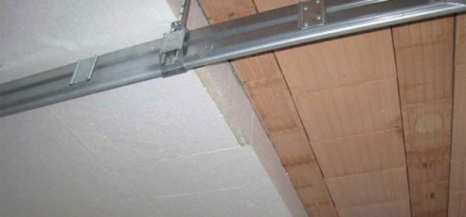 Технология утепления потолка пенопластом