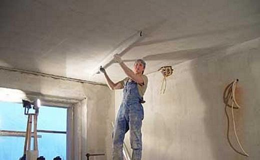 Выравнивание потолка на снимке