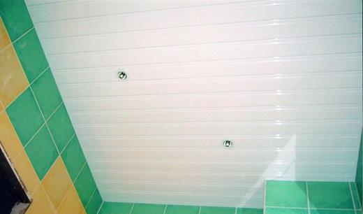 Реечный потолок Бард глянец на фото