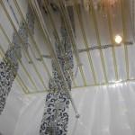 Технология монтажа реечного алюминиевого потолка