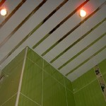Технология монажа реечного потолка Cesal