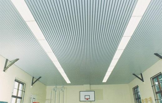 Потолок Бард в спортзале на изображении