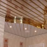 Рекомендации по выбору реечного потолка