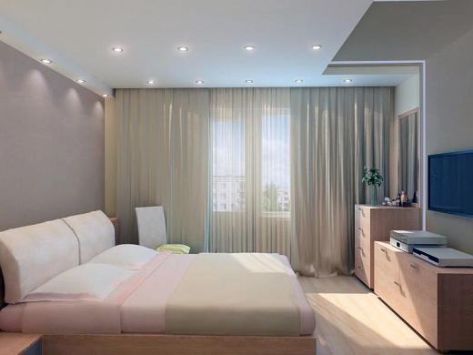 Светильники для натяжных потолков в спальню