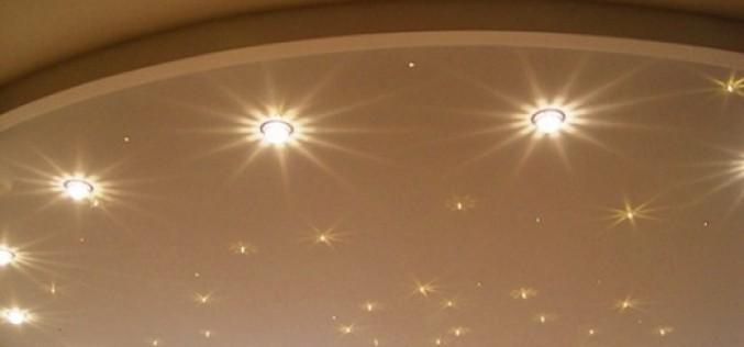 Рекомендации по выбору светильников для натяжного потолка