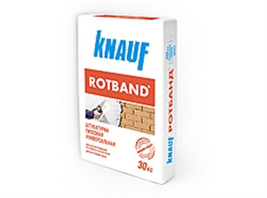 На картинке упаковка штукатурки Ротбанд