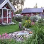 Обустройство участка: ландшафтный дизайн и его преимущества