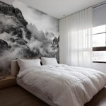 Правила сочетания фотообоев в спальню с мебелью и аксессуарами интерьера