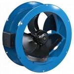 Промышленные осевые вентиляторы. Принцип действия