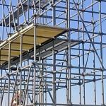 Сборные строительные леса — преимущества легких конструкций