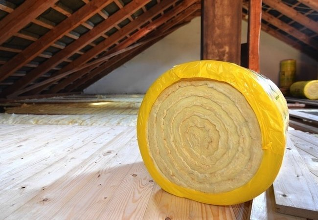 attic-fiberglass-batt-insulation