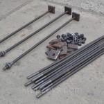Фундаментные болты тип 2: конструкция, исполнение, способ монтажа